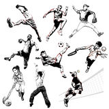 Sports vector illustration 2 Royalty Free Stock Photography