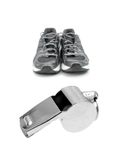 Sports Whistle Royalty Free Stock Images