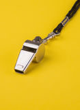 Sports Whistle Royalty Free Stock Photography