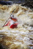 Sports: Whitewater rafting Stock Images