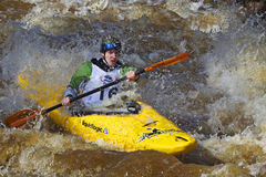 Sports: Whitewater rafting Royalty Free Stock Image