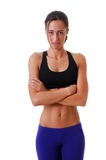 Sports Woman Royalty Free Stock Photography