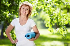 Sports woman Stock Photography