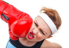 Sports woman Royalty Free Stock Images