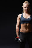 Sports woman stock images