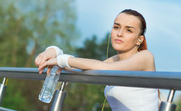 Sports woman Stock Image