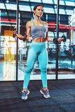 Sports woman training Royalty Free Stock Photo