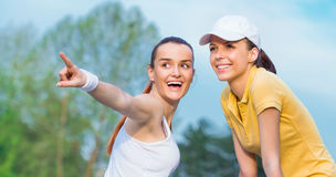 Sports woman Stock Photo