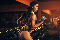 Sports woman Royalty Free Stock Photo