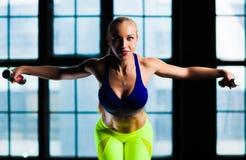 Sports woman Stock Photos