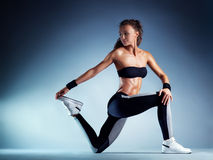 Sports woman Royalty Free Stock Photo