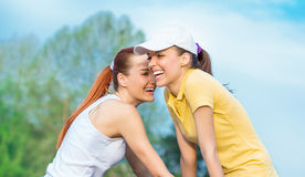 Sports women Stock Photos
