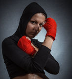 Sports women Stock Image
