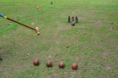 Sports Woodball a way to play a sport like golf