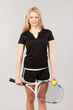 Sports young girl Royalty Free Stock Image