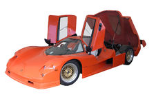 sportscar个性化的saker 库存图片