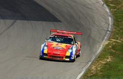 Sportscar赛跑 免版税库存图片