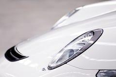 Sportscar车灯 免版税库存图片
