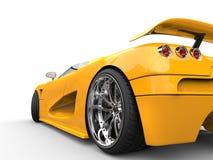Sportscar - съемка крупного плана заднего колеса Стоковая Фотография RF