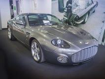 Sportscar Aston Martin DB7 Zagato kupé Fotografering för Bildbyråer
