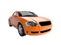 sportscar Chaud-orange Images stock