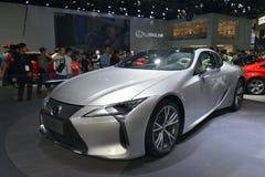 Sportscar de hybride van LEXUS LC 500h stock foto's