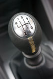 Sportscar gear shifter Royalty Free Stock Photos