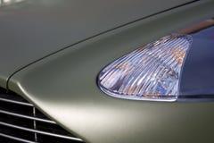 Sportscar grünes mattes Lizenzfreie Stockfotos