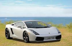 sportscar的Lamborghini 库存图片