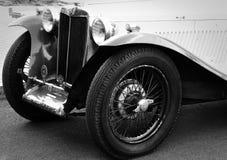 Sportscar MG года сбора винограда припаркованное во время Watkins Глена Grand Prix стоковые фото