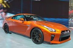 Sportscar NISSAN GT-R Stock Afbeelding