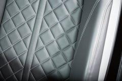 Sportscar siedzenia szczegółu strzał Zdjęcie Stock