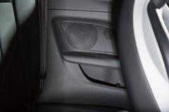 Sportscar szczegółu głośnikowy strzał Obraz Stock