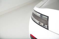 Sportscar tylni światła strzał Obrazy Royalty Free