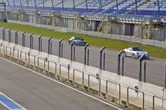 2 Sportscars на гоночном треке Стоковые Фото