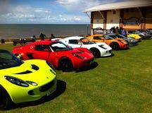 Sportscars de Lotus Photos stock