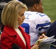 sportscaster de NBC de kremer d'Andrea Photo libre de droits