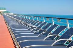 Sportsdeck onboard Liberty of the Seas, Royal Caribbean. Cruises stock photo