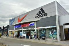 SportsDirect COM speichern Lizenzfreie Stockbilder