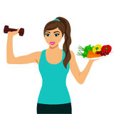 Sportsgirl. Healthy Lifestyle. Royalty Free Stock Images