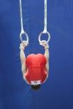 sportslig gymnastik Arkivbild