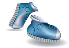 sportslig sko Royaltyfri Foto