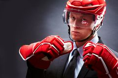 Sportsman Royalty Free Stock Photography