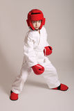 Sportsman boy Stock Image
