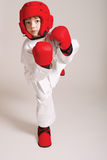 Sportsman boy Stock Photo