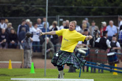 Sportsman at the Cowal Gathering in Scotland Stock Photos
