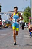Sportsman running Stock Photography