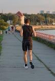 Sportsman running Stock Images