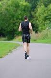 Sportsman running Royalty Free Stock Image