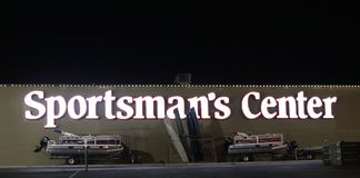 Sportsman`s Center, Memphis Tennessee Royalty Free Stock Images
